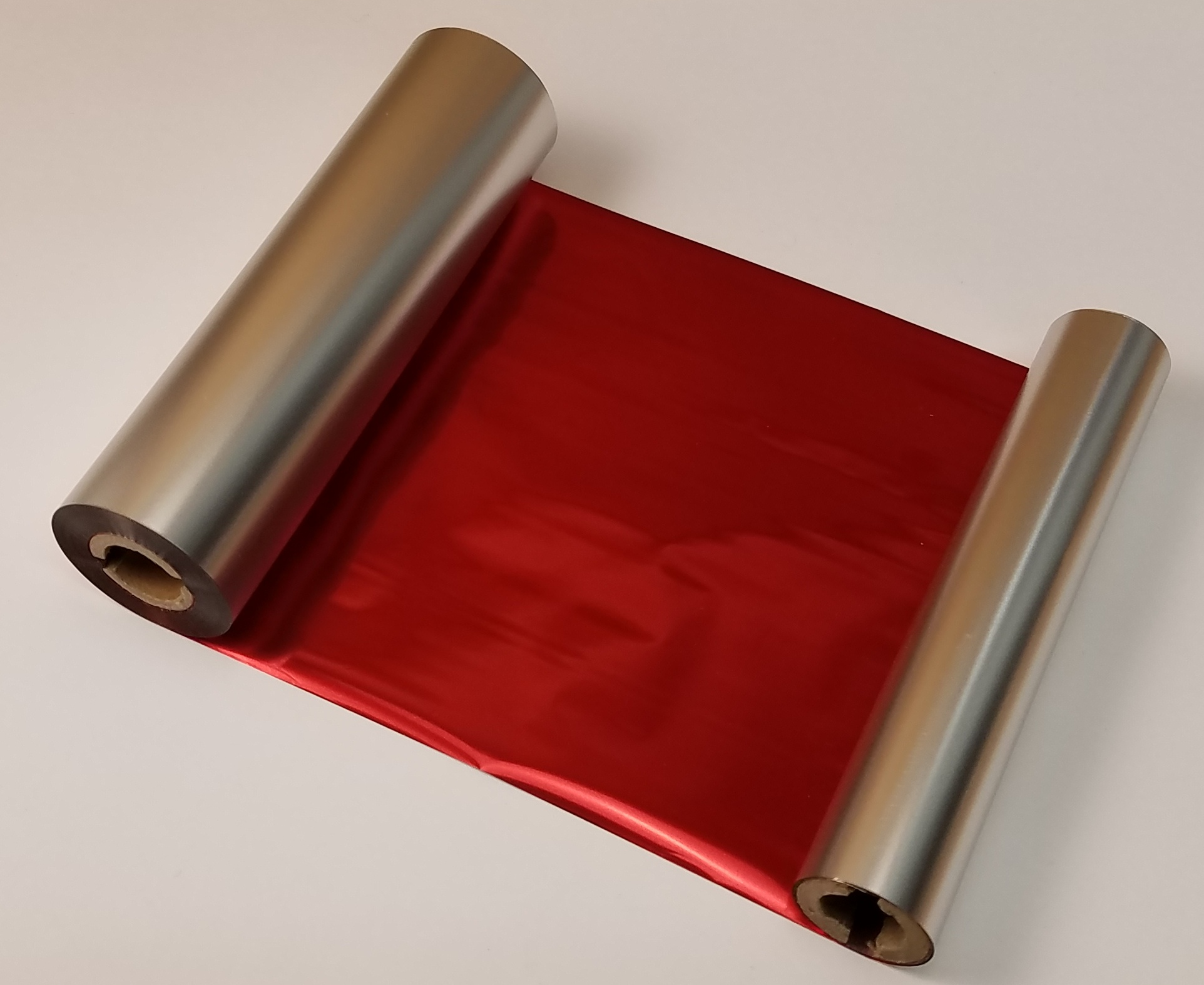 "Metallic Red 4"" wide"